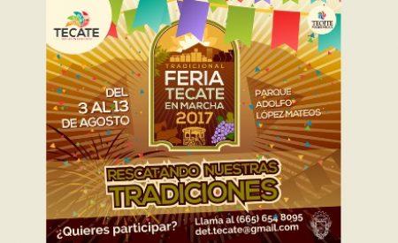 Gobierno Municipal convoca a participar en la Feria Tecate en Marcha 2017