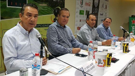 Presentan Torneo de Aniversario del Club Campestre