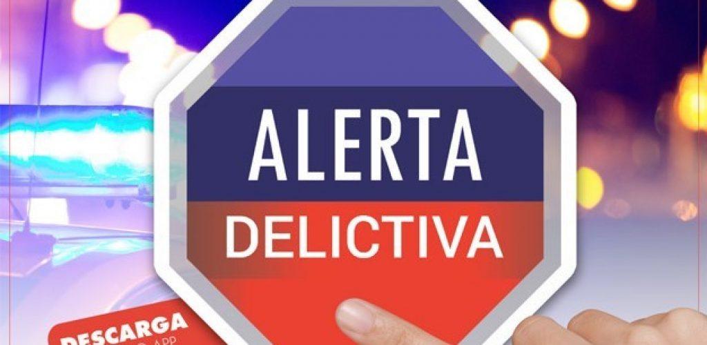 """Denuncia delitos al instante en la APP """"Alerta Delictiva"""""""