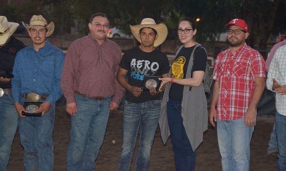 Los mejores exponentes de la charrería y rodeo se presentaron en laFeria Tecate en Marcha