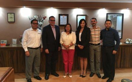 Sostienen reunión de trabajo Alcaldesa y Comisionado Presidente del ITAIPBC