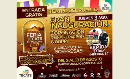 La entrada a la Feria Tecate en Marcha será gratuita