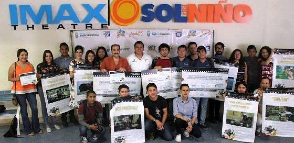Premia Gobierno del Estado a los ganadores del Primer Concurso Estatal de Cortometrajes