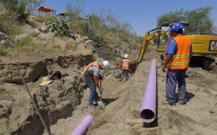 Avanza Gobierno del Estado con la construcción de línea morada en Tecate