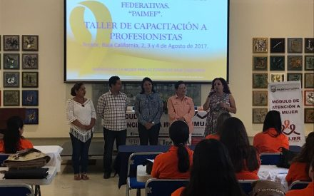 Inicia programa de apoyo las instancias de mujeres en entidades federativas