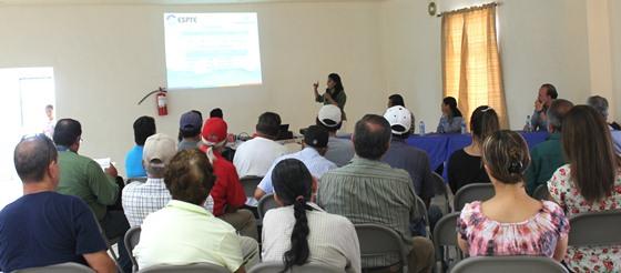 Informa Gobierno del Estado avances para suministro permanente de agua en el Poblado la Rumorosa