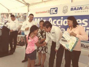 Entrega Gobierno del Estado apoyos sociales pormásde 400 mil pesos a Osc´S y a habitantes de La Rumorosa