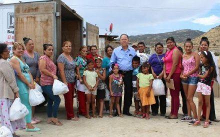 Brinda DIF Tecate seguridad alimentaria a familias tecatenses
