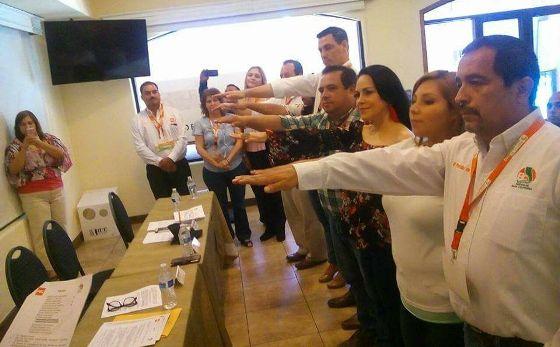 Se renovó el Comité Directivo Estatal del PBC