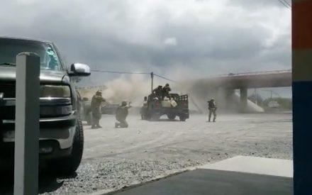 Militares se enfrentan con sicarios en Tamaulipas (Video)