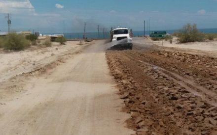 Inicia SCT construcción de carretera en Valle Chico