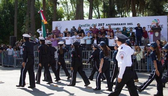 Se realizó en Tecate el tradicional desfile de la Independencia de México