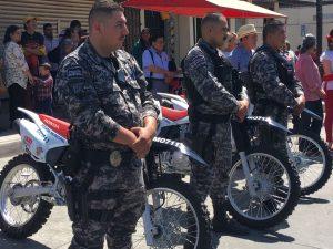 Entrega Ayuntamiento de Tecate Equipamiento Institucional SubsidioFORTASEG 2017