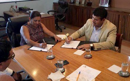 Firma Gobierno del Estado convenio de colaboración con el Ayuntamiento de Tecate