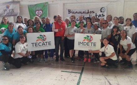 IMDETE realiza cuadrangular de cachibol para celebrar el 125aniversario de Tecate