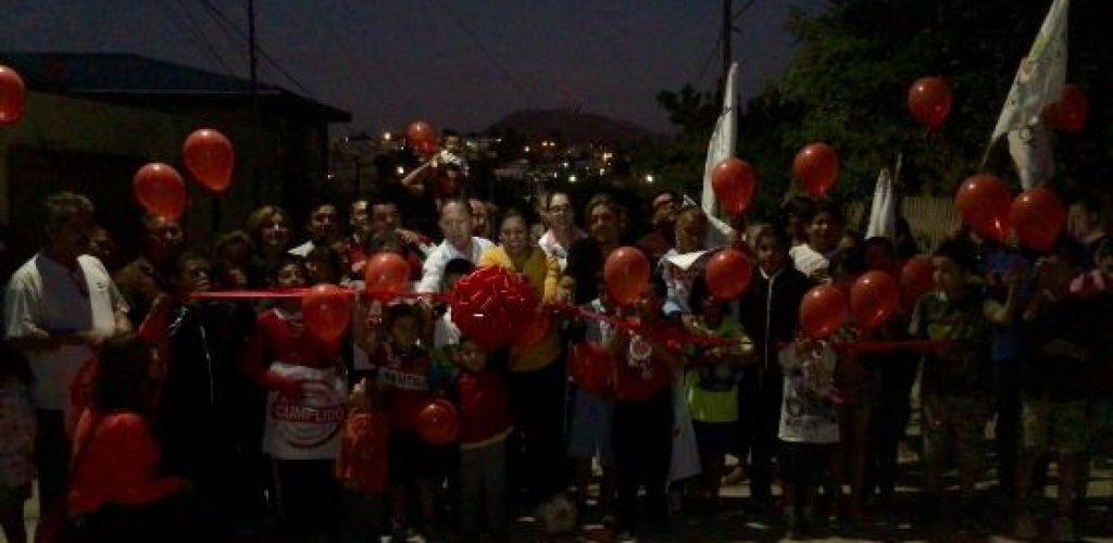 Gobierno Municipal inaugura la calle Tierra y Libertad en la Francisco Villa