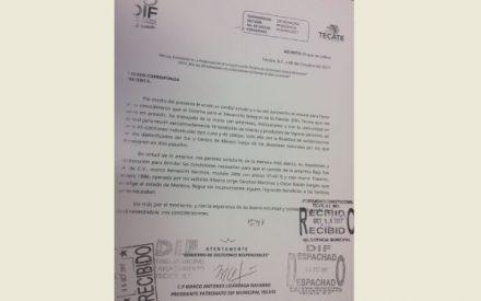DIF de Ayala, Morelos agradece a los tecatenses por su solidaridad