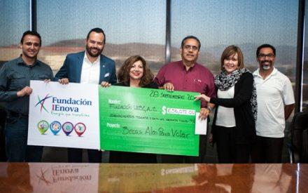 Fundación IEnova entrega donativo de $ 636,042 pesos a Fundación UABC