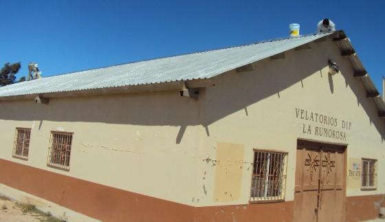 Inicia Gobierno del Estado remodelación de edificio de velatoriosen La Rumorosa