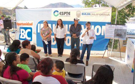 Inauguran línea de conducción de agua potable  en  beneficio de más de 28 mil tecatenses