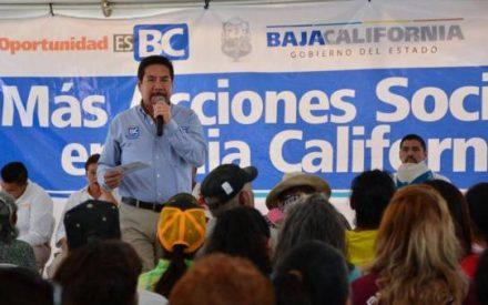 Destaca Gobierno del Estado reducción de la pobreza yreforzamiento de programas sociales en Baja California