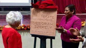 Rinden homenaje a fundadora de Rancho La Puerta