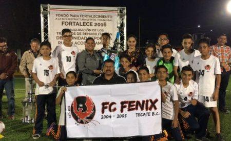 Entregaron la Unidad Deportiva Infantil, Rubén Acosta