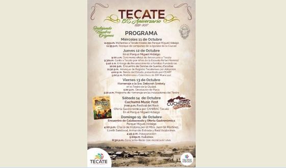 Celebrará el Pueblo Mágico de Tecate 125 años de historia