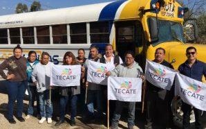 Inicia operación ruta estudiantil en zona rural de Tecate