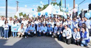 Presenta Señora Brenda Ruacho de Vega su 4to.Informe de Actividades al frente de DIF Baja California