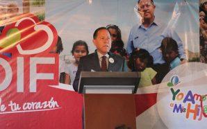 Rindió Primer Informe de Labores, Marco Antonio Lizárraga, Presidentedel DIF…