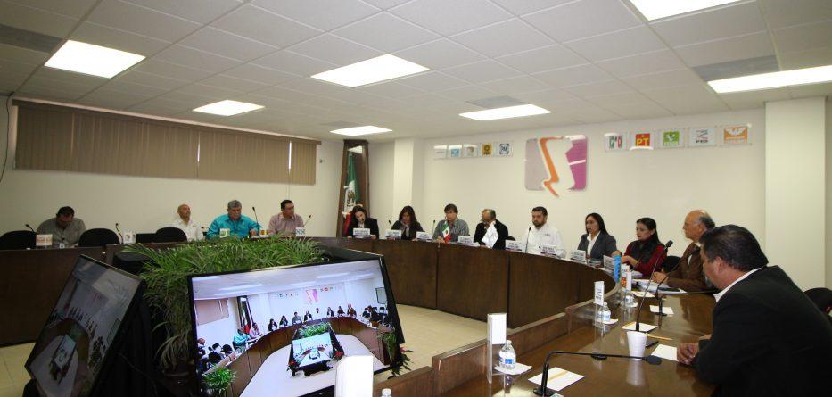 Celebra IEEBC XIX Sesión Extraordinaria del Consejo General