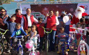 Regalando alegría a 2 mil niñas y niños, DIF Tecate realizó Posada Navideña