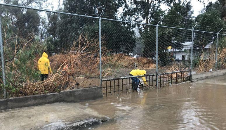 Obras Públicas atendió afectaciones por las lluvias