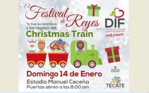 Llegará el tradicional Christmas Train a Tecate
