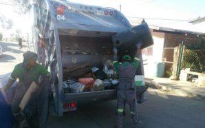 Se restablece el servicio de recolección de basura