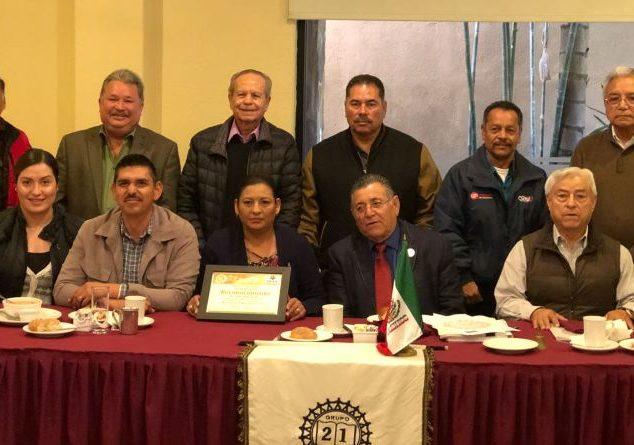 Ante Grupo 21 Alcaldesa presentó proyectos para este 2018