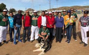"""Rinden homenaje a Alfredo """"Choix"""" Hernández un icono del béisbol de Tecate"""