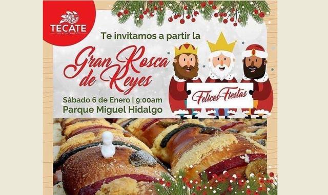 Sábado 6 de enero, Ayuntamiento de Tecate celebrará el Día de Reyes