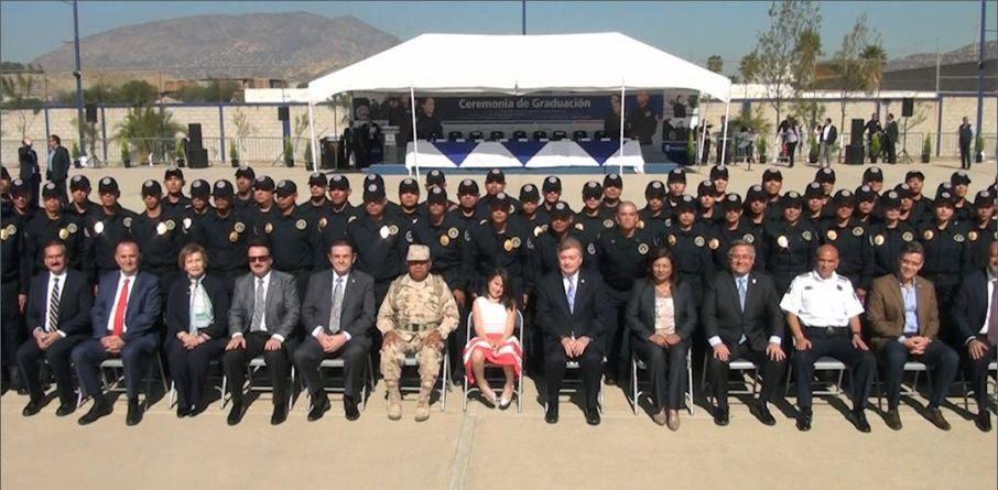 Egresan 225 nuevos cadetes que brindarán seguridad en los municipiosde Baja California