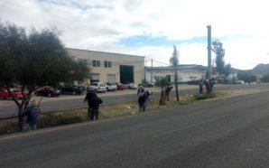 Obras Públicas del Municipio realizó jornada de limpieza en accesoprincipal…
