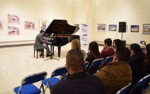 CEART Tecate presentarecital de piano con el jovenFabrisio Castro Brambila