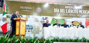 Reconoce Gobierno del Estado valor y lealtad del Ejército Mexicano