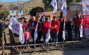 Nereida Fuentes arranca obra de pavimentación en El Descanso