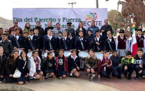Ayuntamiento de Tecate conmemora el 105 aniversario del Día del Ejercito Mexicano
