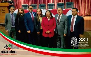Asiste como invitado especial, Diputado Benjamín Gómez a la toma de protesta de la nueva mesa directiva CANACINTRA Tecate
