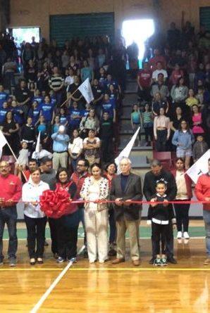 Reinauguran gimnasio municipal Gustavo Díaz Ordaz