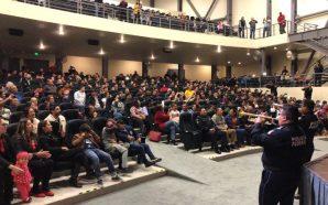 Exitosa presentación de la Sinfónica y Mariachi de la Policía Federal