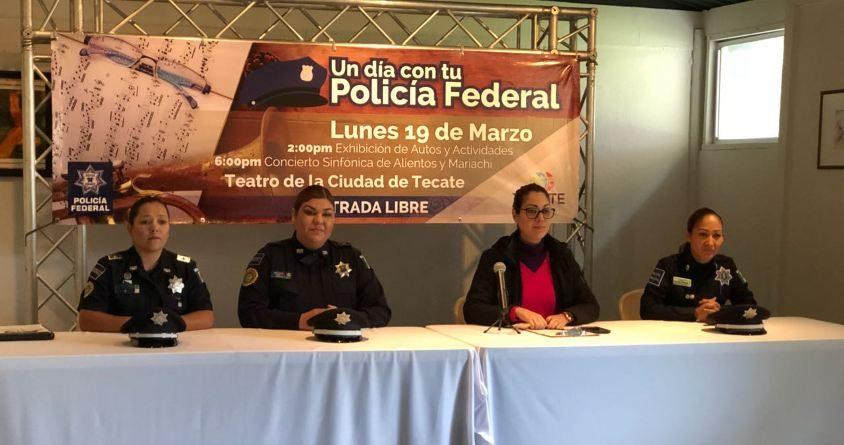 Anuncian presentación de la Orquesta y Mariachi de la Policía Federal