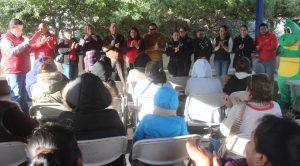 Ayuntamiento de Tecate inició dos semanas Activación Comunitaria en elFracc. Andalucía